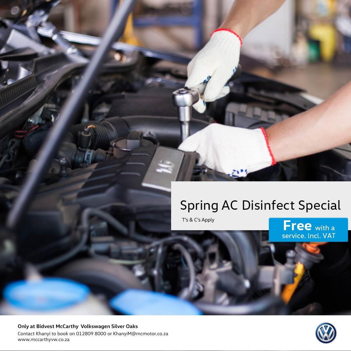 Service And Parts | Bidvest McCarthy Volkswagen
